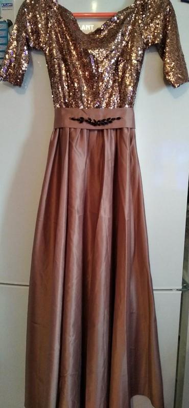 платье нарядное в Кыргызстан: Новая! Нарядная платья, только один раз одевала. размер:36