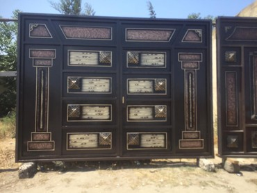 Darvazalar iwmiw - Azərbaycan: Demir qapilar darvazalar