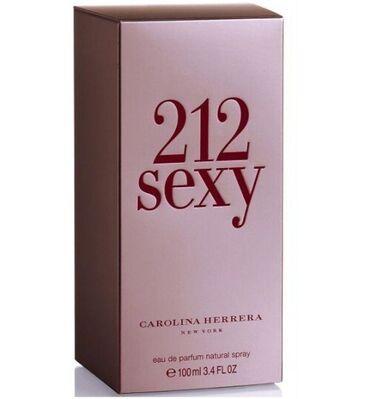 """трикотажные платья для полных женщин в Кыргызстан: Туалетная вода,Carolina Herrera """"212 Sexy""""-100 мл.Аромат """"212 Sexy"""""""