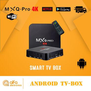 Android Tv-Box la Siz öz televizorunuzda oyunlar oynaya, internetə