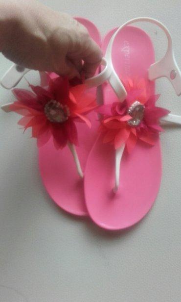 Prelepe gumene sandale kao nove br 37,kupljene u sportskoje - Belgrade