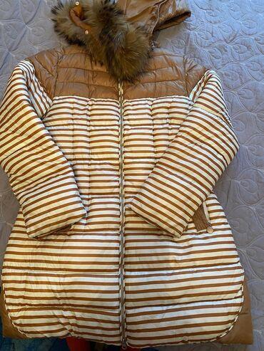 Зимняя куртка, теплая, синтепон. размер 44-46посмотреть можно в 5 ми