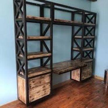 Изготовления офисной и домашней мебели в стили лофт на любой вкус в