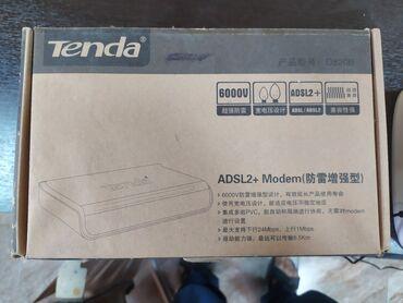 adsl-modem - Azərbaycan: Tenda adsl modem (splittersiz).təzədir, istifadə olunmayıb. WiFi