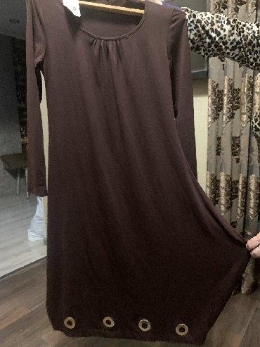 платье бохо батальных размеров в Кыргызстан: Платье Свободного кроя Adl 3XL