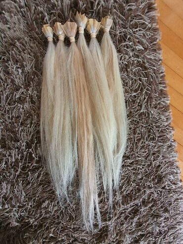 Prodajem prirodnu kosu 120 pramenova na keratinu spremna