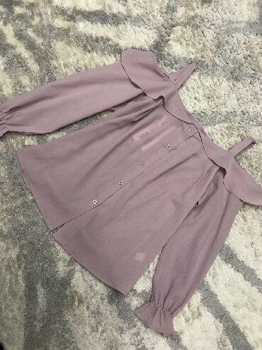 блузки-рубашка в Кыргызстан: Блузка крестьянка новая, размер S