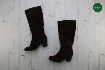 Женская обувь - Украина: Жіночі чоботи на підборах Doskteps    Довжина халяви: 42 см Ширина хал