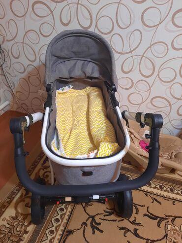 Детский мир - Шопоков: Продаю б/у коляску. В хорошем состоянии.Коляску использовали только