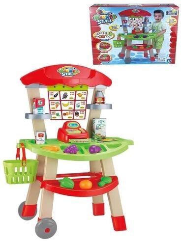 Mini market set 3599 dinara Mini market set sadrži u okviru postolja