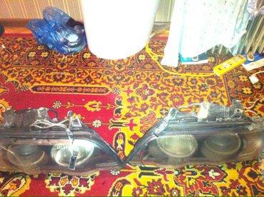 БМВ Х5 Фары комлект с Ангельскими глазками и ксеноном (Дорестайл) в Бишкек