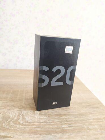 Электроника - Дюбенди: Samsung s20 grey istifadede olunmayib zematle qeydiyyatdan keçib