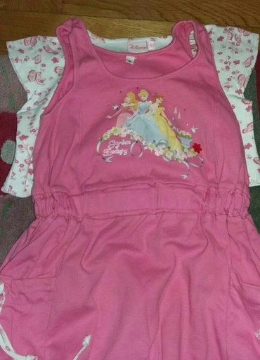 Disney princess haljinica i majica roza. nosi se zajedno ili bez - Belgrade