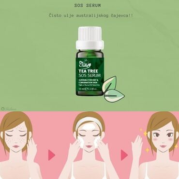 SOS SERUM ciljano deluje na oštećenja kože, fenomenalan kod upalnih pr