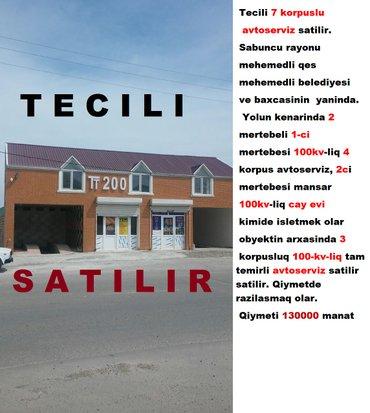Bakı şəhərində Tecili 7 korpuslu avtoserviz satilir