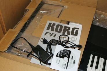 Korg Pa1000 Professional Arranger Keyboard, 61 Semi-Weighted Keys
