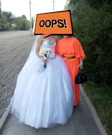 Продаю свадебное платье,сшито на в Ош