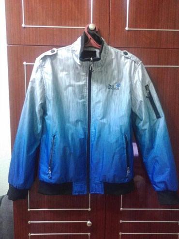 Куртка фирменная jack wolfskin, осенняя, в Бишкек