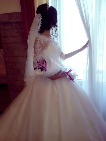 Свадебные платья - Кок-Ой: Сатам 50 000 алгам 15 минге сатам жаны