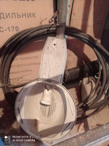 Трос диаметр 14. Прожектор работает