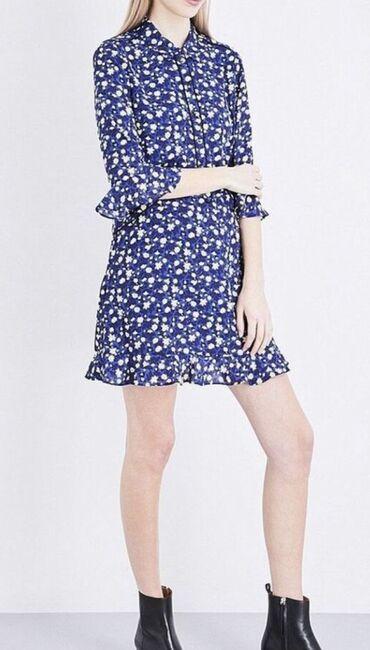 little black dress от avon в Кыргызстан: Платье Whistles bell flower print shirt dress