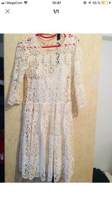 Красивое кружевное платье Турция в Бишкек