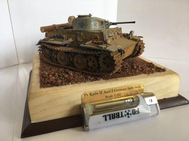 Стендовая модель немецкий легкий танк в Бишкек