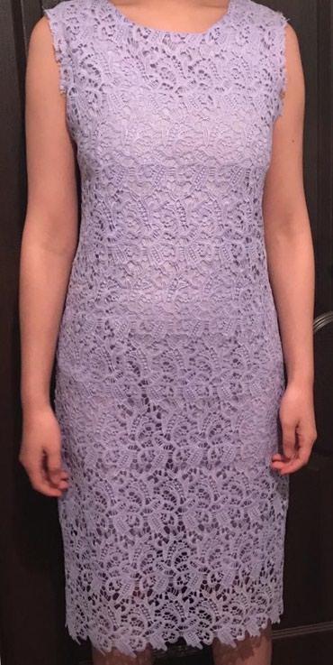 Красивое ажурное платье с подкладом в отличном состоянии, почти новая. в Лебединовка