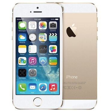 g динамики в Кыргызстан: Б/У iPhone 5s 16 ГБ Золотой