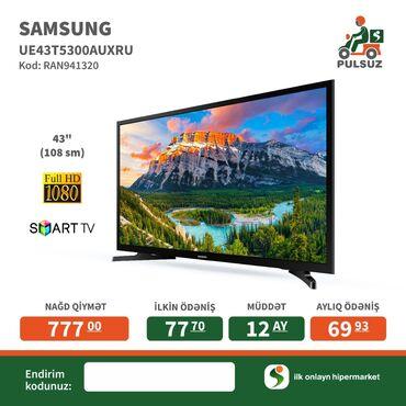 Samsung smart TV modelləri çox ucuz və münasib kredit qiymətləri ilə