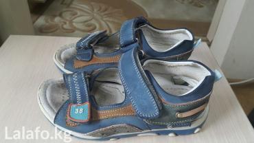 фирменную обувь в Кыргызстан: Сандалии фирменные,кожа,ортопеды. турция. 28р. цена окончательно