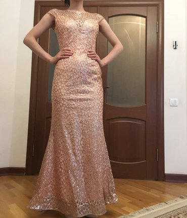 Продаю вечернее платье со шлейфом в Бишкек