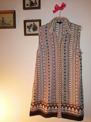 Šarena košulja kratkih rukava, jednom nošena, bez oštećenja, 38 veliči