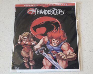 ThunderCats - Μεταγλωτισμένο   2 DVDs σε άριστη κατάσταση