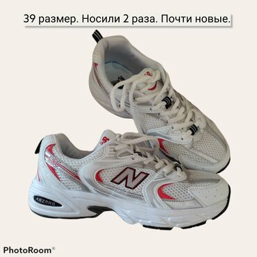 new balance бишкек in Кыргызстан | СПОРТТУК БУТ КИЙИМ: Продаю кроссовки. 39 размер. Носили 2 раза