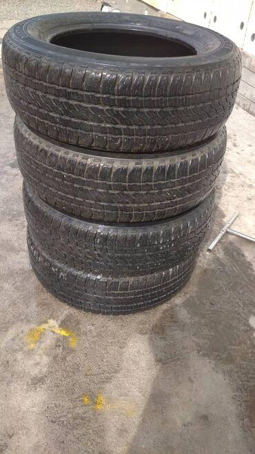 Продам резину Firestone комплект лето в хорошем состоянии 225/65R17
