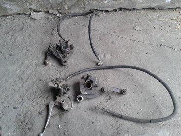 продаю тормозную систему на скутер suzuki adress 100 переднюю в Бишкек