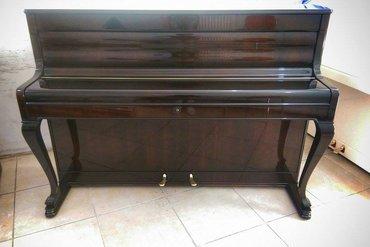 Bakı şəhərində Çexiya istehsalı, nadir rastlanan piano modellerinden biri - pulsuz