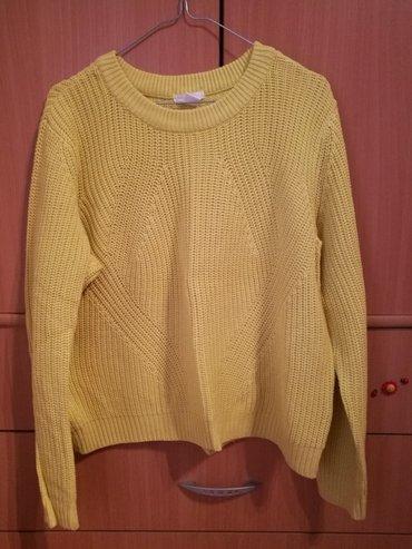H&m, ženski džemper, veličina l, boja limun-žuta - Novi Banovci