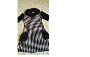 теплое платье большого размера в Кыргызстан: Тёплая туника- платья. Состояние нового. 44-46 размер