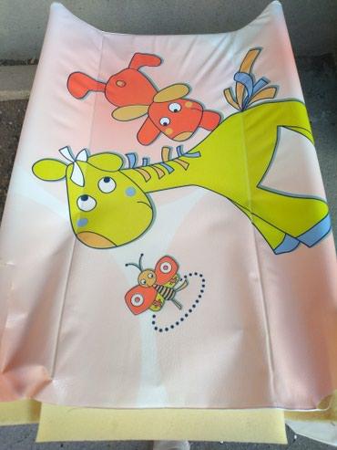 Daska za previjanje bebe sa jedne strane ima ostecenje ali za upotrebu - Belgrade