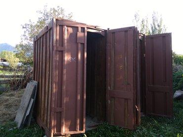 Контейнер 3 тонны продаю в селе Ак-Суу (город Каракол) в Каракол