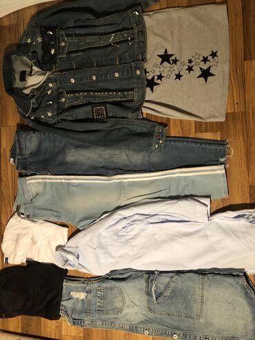 Разгружаю гардероб!!!! Всё за 1000 размеры М куртка джинсовая