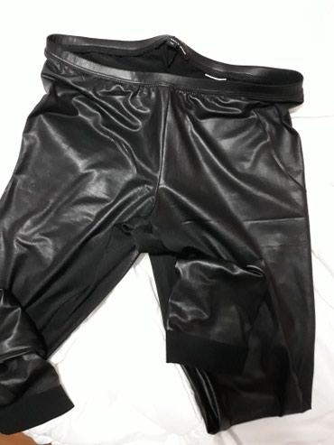 Pantalone-kozne - Srbija: Tally Wejl helanke, imitacija koze, rastegljive, velicina 40