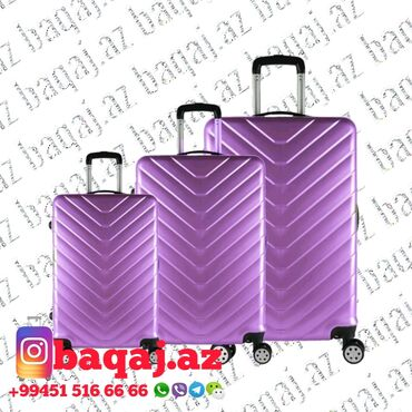 Çantalar - Azərbaycan: Чемоданы из поликарбоната90азн 120азн 150азнМагазин чемоданов работает