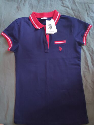 shikarnoe-vechernee-plate-v-pol в Кыргызстан: Новая футболка US Polo