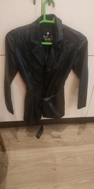тёплую кожаную куртку в Кыргызстан: Продаю кожаную куртку размер М(46)