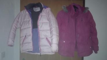 Dečije jakne i kaputi | Sombor: Zimske jakne vel 10—12 u odlicnom stanju, tople i veoma ocuvane, obe