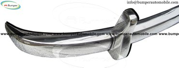 Mercedes W186 300, 300b and 300c year (1951-1957) bumper stainless in Amargadhi  - photo 3