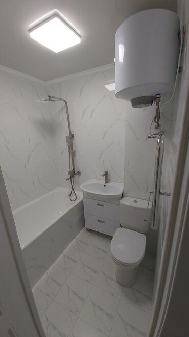 ������������ 3 �� ������������������ ���������������� �� �������������� в Кыргызстан: 104 серия, 3 комнаты, 63 кв. м Евроремонт